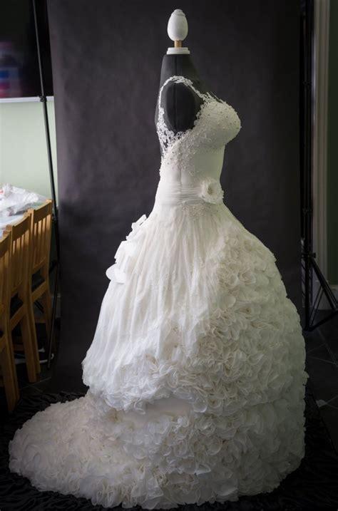 Wedding Dress Wedding Cake by Weddible Dress Wedding Cake Created By Sylvia Elba Yvette