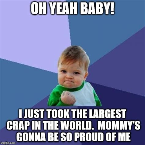 Yes Baby Meme - success kid meme imgflip
