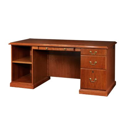right single pedestal desk unicor shopping baritone 68 quot right single pedestal desk
