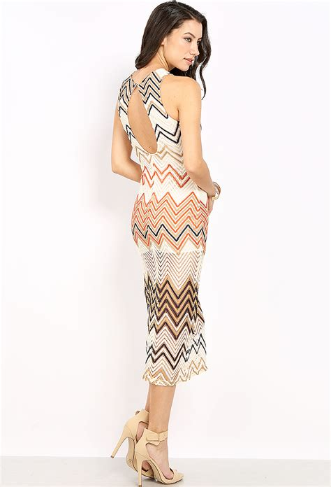 pattern dress lace overlay zigzag pattern lace overlay dress shop day dresses at