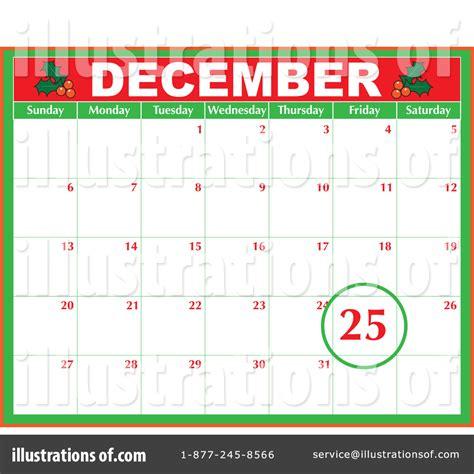 free december calendar clipart 61