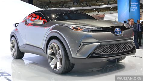 toyota c suv frankfurt 2015 toyota c hr production suv to debut in 2016