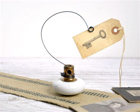 Door Knob Holder by Vintage Door Knob Photo Holder Wire Picture Holder By