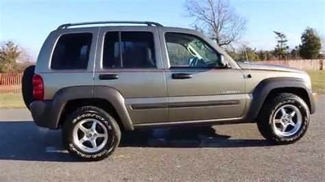 liberty jeep 2004 2004 jeep liberty sport for sale heated seats moon roof