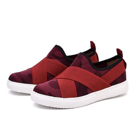 platform sport shoes casual slip on bandage platform athletic sport shoes us
