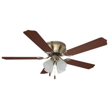 Home Elegance 52 Quot Flushmount Ceiling Fan Walmart Com