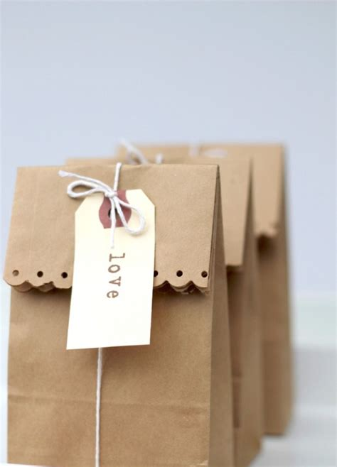 brown paper bag gift wrap 25 simple creative diy gift wrap ideas day 13 of 31