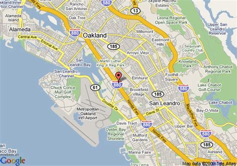 oakland california map map of fairfield inn oakland airport oakland