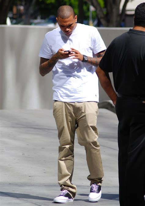 Beckham By Lx Collection chris brown in vans vault spectator lx sneakers franck