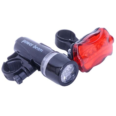 bike front and rear light set bicycle front light bike rear tail light set cycling