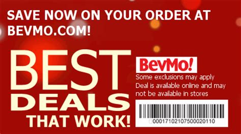 bevmo coupon codes save w 2014 coupons amp coupon printables