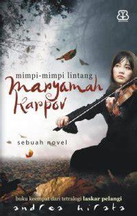 Buku Novel Baru Tetralogi Laskar Pelangi 4 Buku maryamah karpov rg ug 112