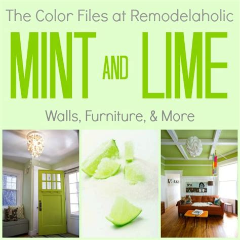 remodelaholic best paint colors for your home mint lime green