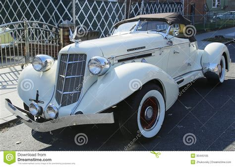 old boat tail cars 1935 auburn 851 speedster boat tail car editorial image