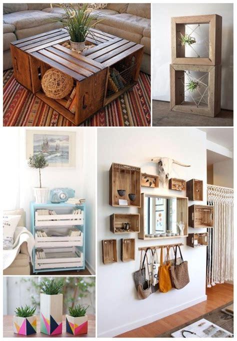 decorar casa madera como decorar tu casa con cajas de madera 161 30 ideas diy