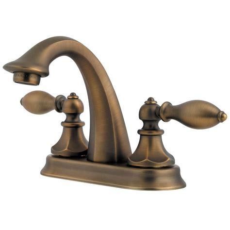 rustic faucets bathroom pfister ashfield 4 in centerset 1 handle bathroom faucet
