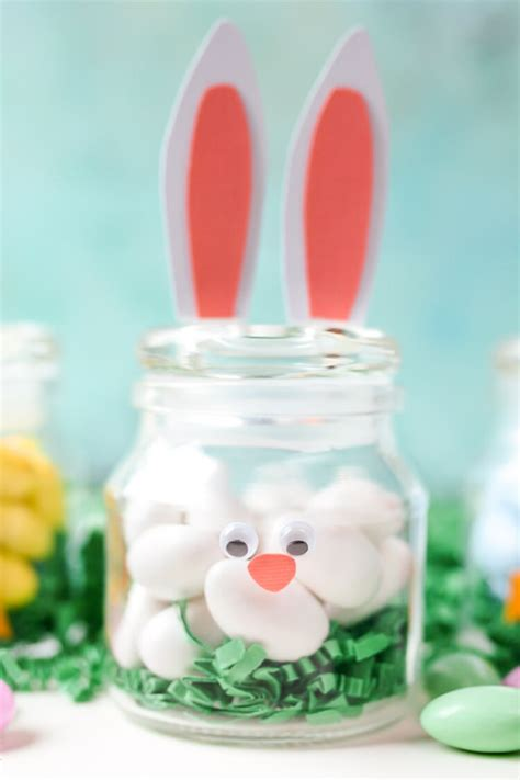 Decluttering Sentimental Items by Diy Easter Jars Bunny And