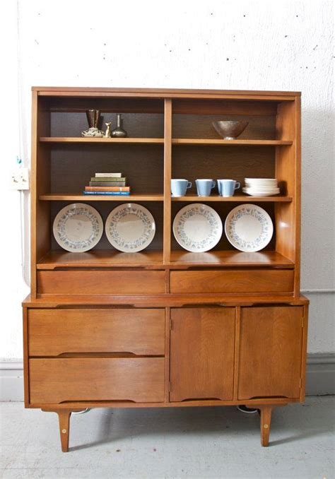 stanley furniture bar cabinet mid century modern hutch china or bar cabinet by stanley