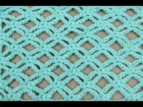 enrejado usado crochet punto enrejado 3 croche pinterest pont 245 es