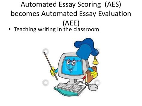 Free Automated Essay Scoring by Automated Essay Scoring