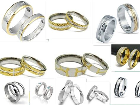 Wedding Rings Pair by Wedding Rings Pair Stainless Steel