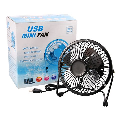 silent desk fan amazon mini usb 4 inch fan desktop silent fan portable laptop