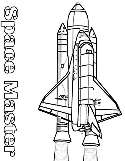 rocket launch coloring page rocket outline coloring pages clipart best