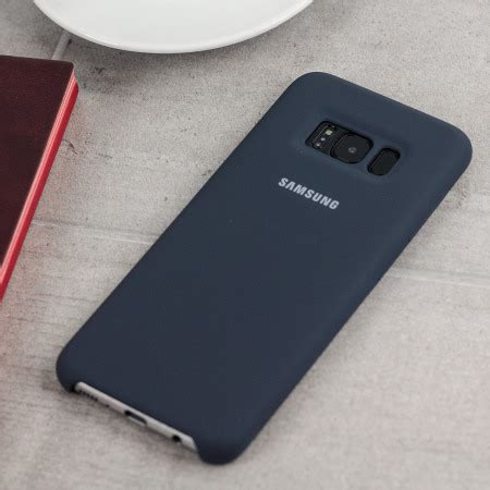 Official Samsung Silicone Cover Blue Galaxy S8 Plus official samsung galaxy s8 plus silicone cover
