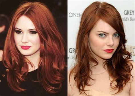 to hair color the ultimate guide to red hair color shades 2017