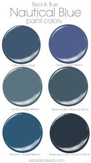 best blue paint tried and true nautical blue paint colors sand and sisal