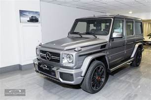 Mercedes G63 Amg 2016 Mercedes Amg G63 463 Edition Coutts Automobiles