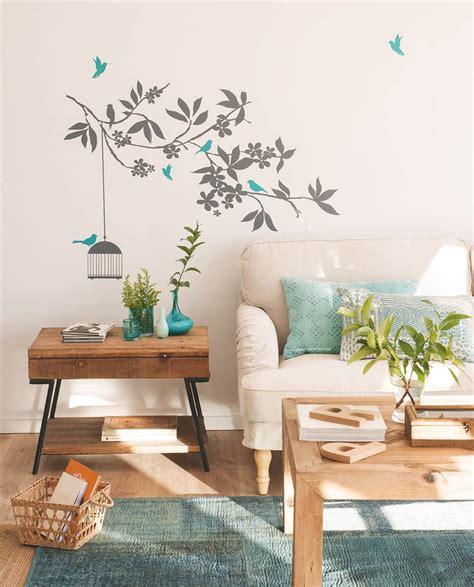 decorar la pared del salon decorar la pared del salon affordable agradable sala de