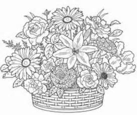 free printable flower coloring pages for adults printable coloring pages for adults in