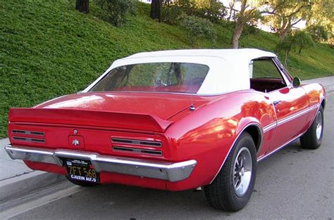 Pontiac Firebird 67 67 pontiac firebird h