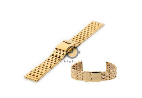 Gold Armband Polieren by Uhrenarmband 22mm Gold Stahl Poliert Massiv