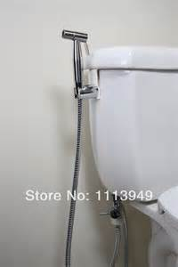 Hose Bidet Thermostatic Mixer Valve Stainless Steel Handheld Bidet