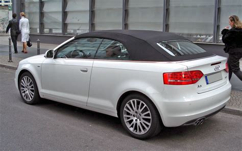 Audi A3 8p Cabrio by 2009 Audi A3 Cabrio 8p Pictures Information And Specs