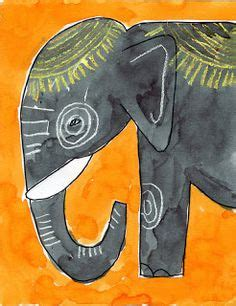 watercolor elephant tutorial 1000 images about fun art lessons k 5 on pinterest art