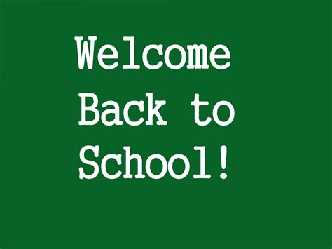 7 Back To School Solutions by Pin Welcome Back To School On