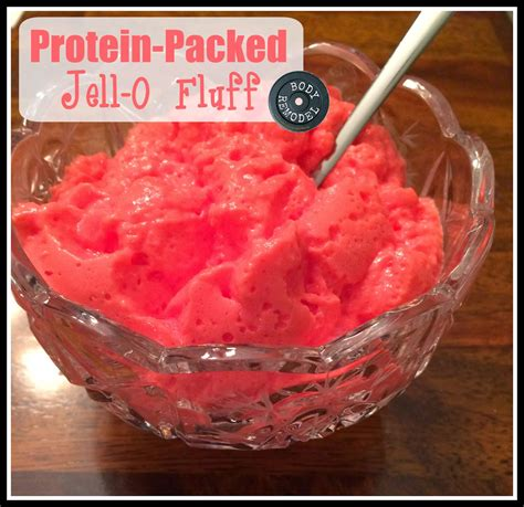 protein jello remodel protein packed jell o fluff