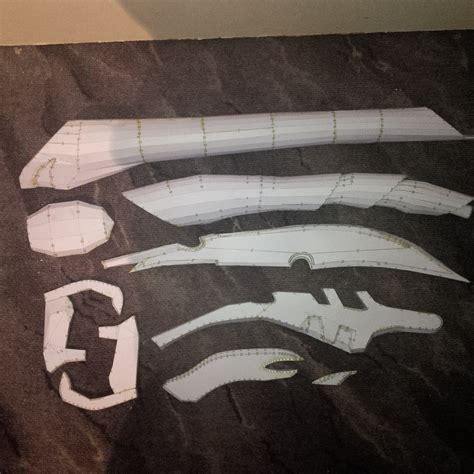 Papercraft Props - pepakura loki s sceptre by gezjenk on deviantart