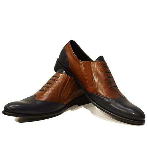 Handmade Italian Leather Shoes - modello massimo handmade colorful italian leather oxford