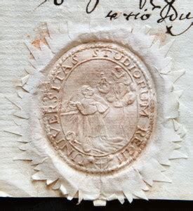 lettere unimore ecco l antico sigillo dell universit 224 di reggio emilia una