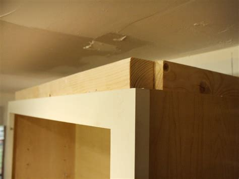 diy molding how to install cabinet crown molding how tos diy