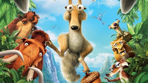 wallpaper cartoon ice age ice age 2 wallpapers hd wallpapers id 436