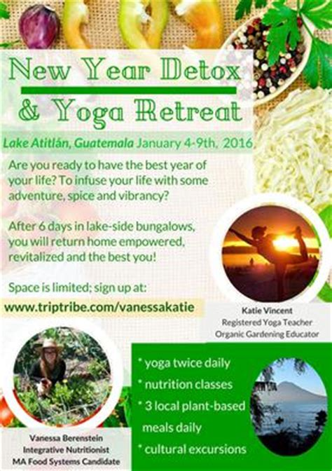 Detox Diet Retreats Usa by New Year Detox And Retreat