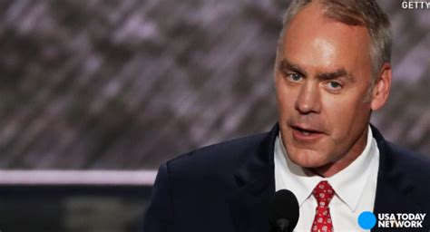 Sec Of Interior by Zinke S Reported For Interior