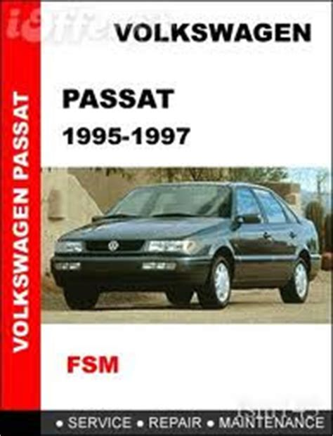 Vw Volkswagen Passat Factory Service Manual 1994 2005