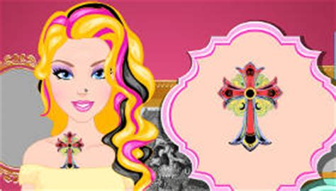 barbie tattoo quiz games free barbie games for girls