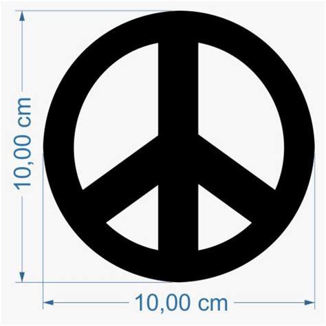 Aufkleber Auto Peace by Aufkleber Peace Zeichen